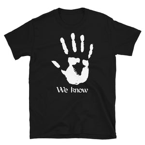 The Dark Brotherhood We Know Unisex T-Shirt skyrim elder scrolls morrowind oblivion