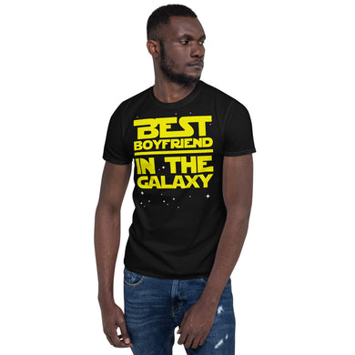 Best Boyfriend In the Galaxy Unisex T-Shirt