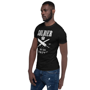 Soldier First Class Unisex T-Shirt Final Fantasy 7, Cloud Strife, FF7, final fantasy shirt, final fantasy t shirt, final fantasy tshirt