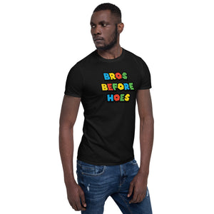 Bros Before Hoes Video Game Unisex T-Shirt Bros Before Hoes Video Game Unisex T-Shirt