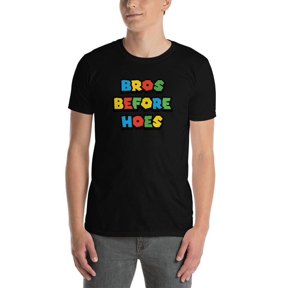 Bros Before Hoes Video Game Unisex T-Shirt