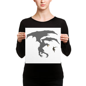 Dragon Fantasy RPG Canvas Print Dragon Fantasy RPG Canvas Print