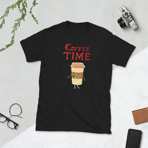 Coffee Time - Coffee Lover Unisex T-Shirt Coffee Time - Coffee Lover Unisex T-Shirt