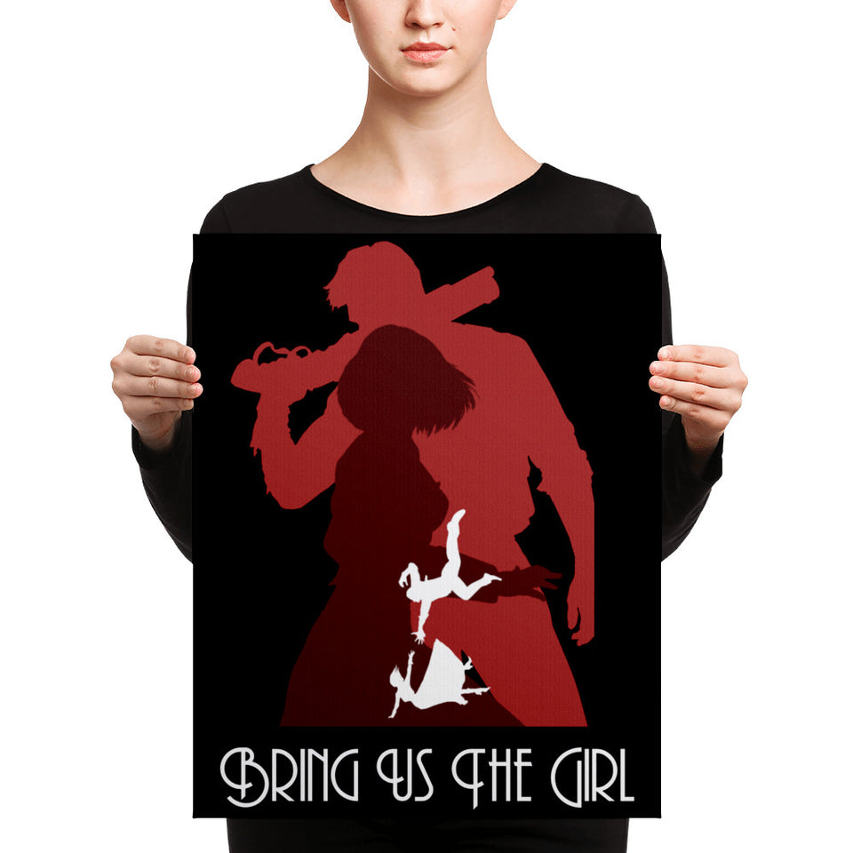 Bring Us The Girl Canvas Print