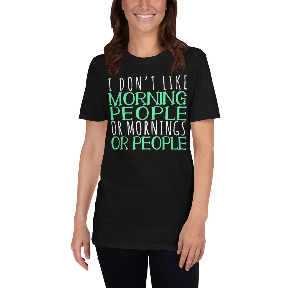not a morning person shirt