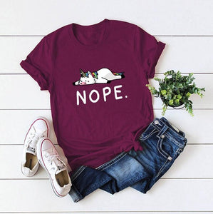 Nope Unicorn Women's T-Shirt Nope Unicorn Women's T-Shirt
