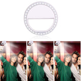 Universal Selfie Smartphone LED Ring Flash Light Universal Selfie Smartphone LED Ring Flash Light