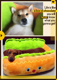 Hot Dog Pet Bed hot dog bed, hot dog dog bed, hot dog sofa, hot dog pet bed, hot dog bun dog bed