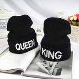 King & Queen Beanie queen beanie king and queen beanies king beanie