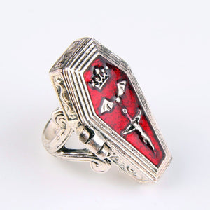 Coffin Ring coffin shaped ring