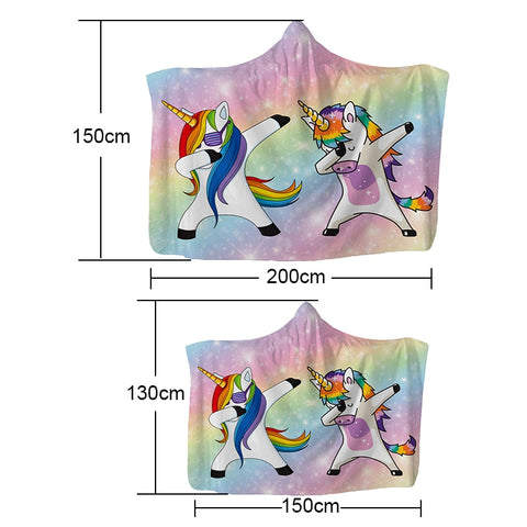 Unicorn Plush Hooded Blanket unicorn hooded blanket unicorn hooded throw unicorn hooded blanket for adults unicorn snuggie blanket unicorn wearable blanket wearable unicorn blanket unicorn blanket hoodie hooded blanket unicorn unicorn hooded blanket adults
