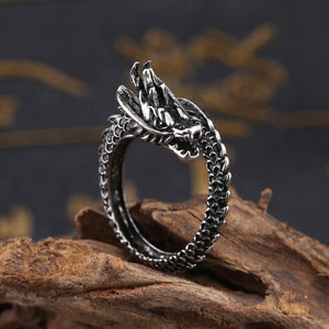 Stainless Steel Dragon Ring Stainless Steel Dragon Ring