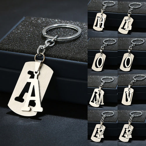 A-Z Letter Keychain