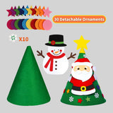DIY Felt Christmas Tree felt christmas tree felt christmas tree for toddlers diy felt christmas tree felt christmas ornaments kids felt christmas tree