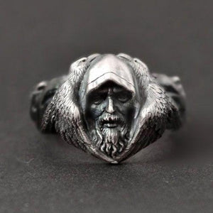 Odin Norse Mythology Viking Ring viking ring, viking wedding rings, mens viking rings, norse rings, nordic rings