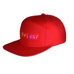 SHG™ LED Message Hat scrolling message hat scrolling message led hat