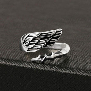 Angel Wing Sterling Silver Ring Angel Wing Sterling Silver Ring