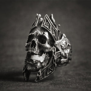 Ares Greek Gods of War Skull Ring skull rings for men skull ring skull rings for women