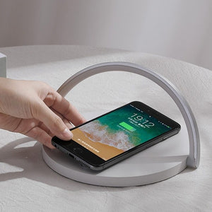 Hylo Smart Wireless Charger Lamp wireless charging pad, samsung wireless charger, apple wireless charger, wireless charger, iphone wireless charger, iphone 8 wireless charging, iphone xr wireless charging, iphone 7 wireless charging, wireless phone charger, best wireless charger