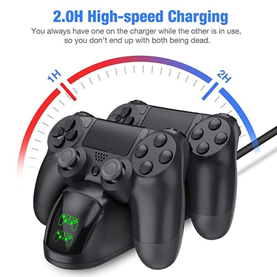 PS4 Controller Charger - Dualshock Charging Base PS4 Charger