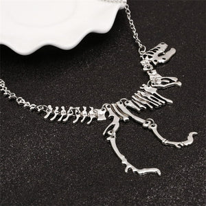 Dinosaur Necklace dinosaur necklace t rex necklace dinosaur skeleton necklace