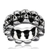Skull Stainless Steel Punk Ring skull rings for men skull ring skull rings for women