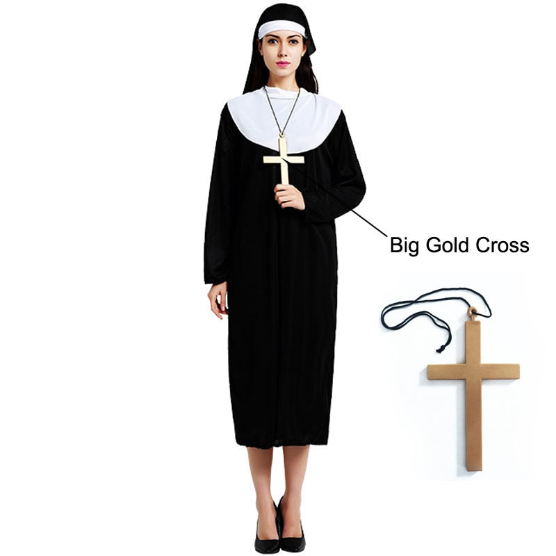 Halloween Nun Costume