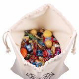 Halloween Cotton Canvas Trick or Treat Bags Halloween Decoration Halloween Cotton Canvas Trick or Treat Bags Halloween Decoration