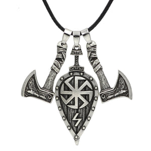 Axe & Shield Pendant Necklace Axe & Shield Pendant Necklace