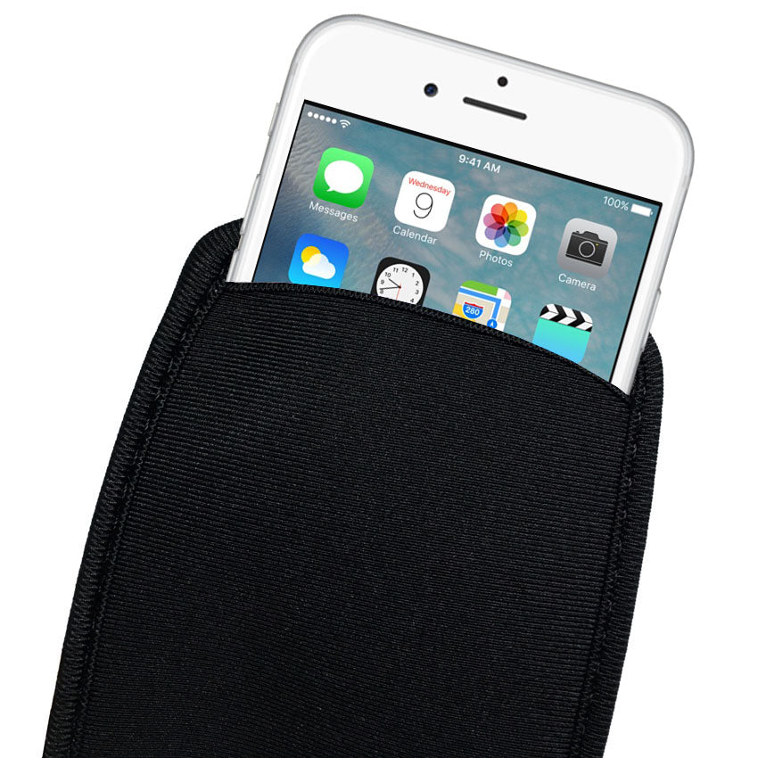 Neoprene Protective Mobile Pouch Bag for iPhone 6 6S 7 Protect Sleeves Pouch Case for iPhone