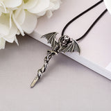 Glow In The Dark Dragon Sword Necklace Glow In The Dark Dragon Sword Necklace