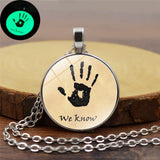 Dark Brotherhood We Know Glow In The Dark Necklace Elder Scrolls Skyrim