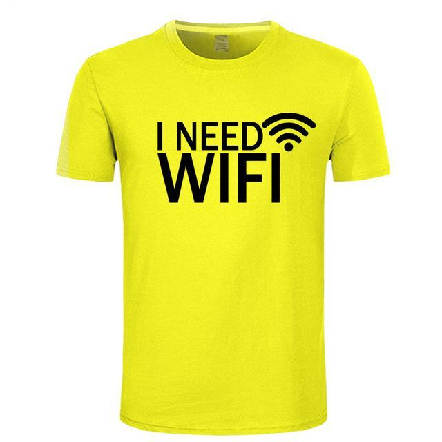 I Need WiFi Funny T-Shirt