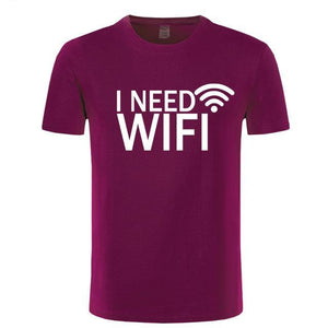 I Need WiFi Funny T-Shirt I Need WiFi Funny T-Shirt