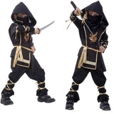 Hooded Ninja Kids Costume Hooded Ninja Kids Costume