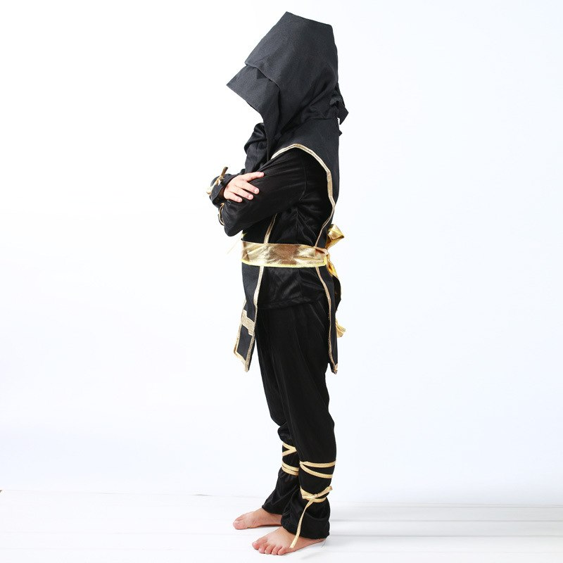 Hooded Ninja Kids Costume