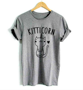 Kitticorn Kitten Unicorn Cat Women T-Shirt Kitticorn Kitten Unicorn Cat Women T-Shirt