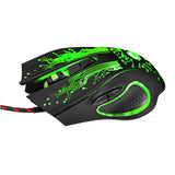 GameRaptor 3200DPI LED Optical 6D USB Wired Gaming Mouse Wired Gaming Mouse