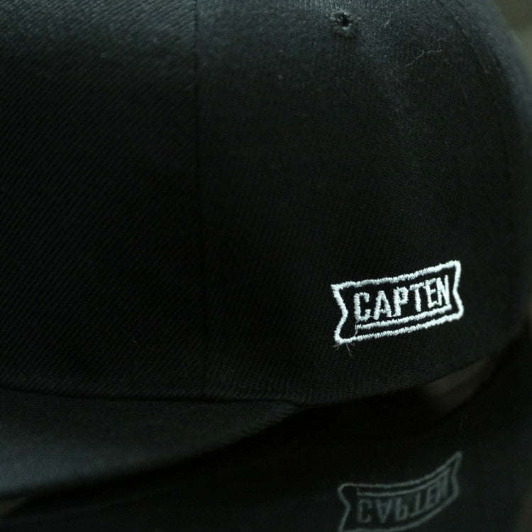 BROOKLYN Letters Solid Color Patch Snapback Hat