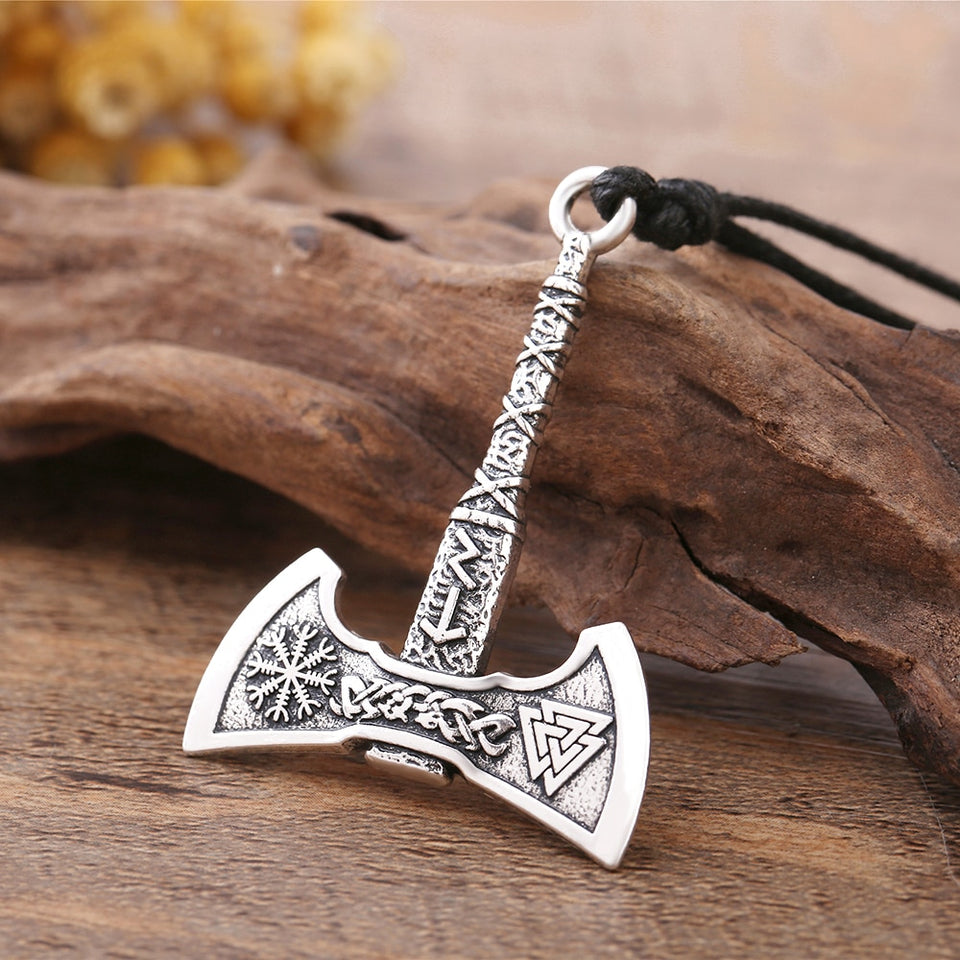 Battle Axe Necklace