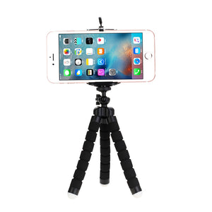 PodGrips Octopus Flexible Camera Phone Tripod Stabilizer Travel Stand Holder Flexible Camera Phone Tripod Stabilizer Travel Stand Holder