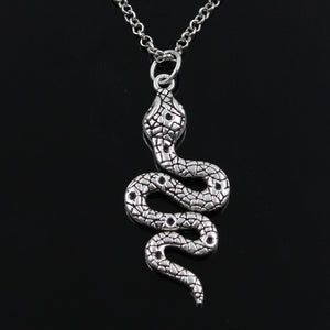 Silver Snake Pendant Necklace Silver Snake Pendant Necklace