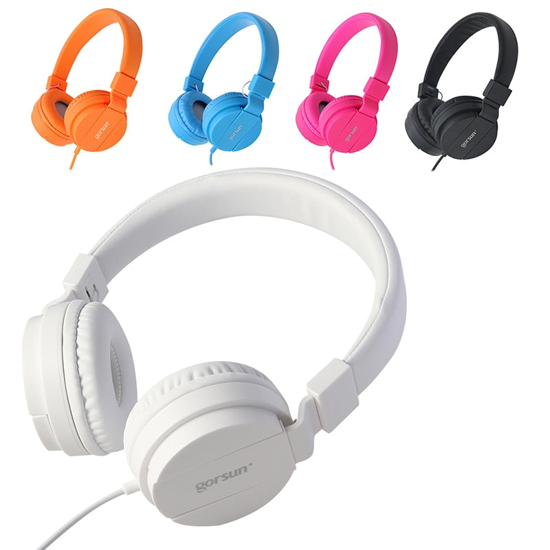 SODIAL GORSUN GS-778 Portable Stereo Foldable Headset