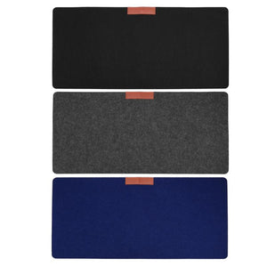 Large Office Computer Desk Mat Table Wool Felt Laptop Cushion Desk Mat Mousepad Large Office Computer Desk Mat Table Wool Felt Laptop Cushion Desk Mat Mousepad