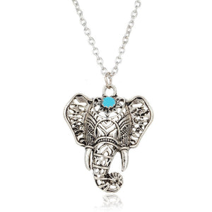 Boho Elephant Pendant Necklace Boho Elephant Pendant Necklace