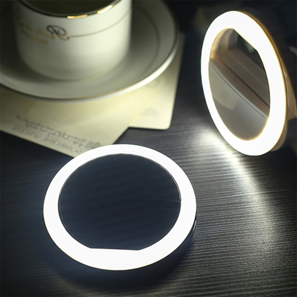 Universal Selfie Smartphone LED Ring Flash Light