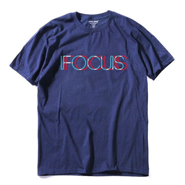 Focus Printed Funny T-Shirt