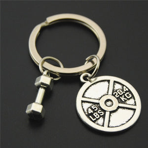 Fitness Motivation Gym Workout Keychain Fitness Motivation Gym Workout Keychain