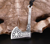 Antique Silver Plated Axe Necklace Antique Silver Plated Axe Necklace