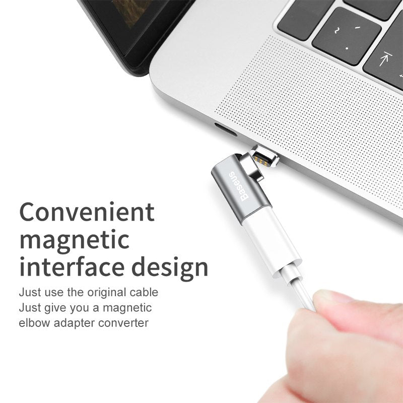 baseus magnetic macbook usb-c adaptor